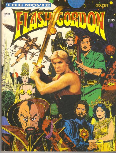 Flash Gordon, the Movie [Golden Books]: Bruce Jones; Al