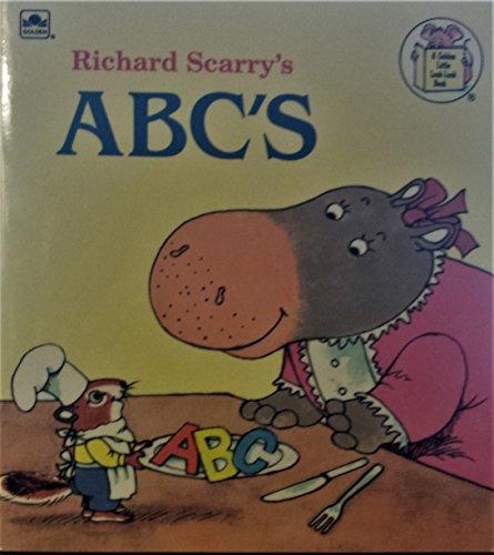 9780307115157: Richard Scarry's ABC (Look-Look)