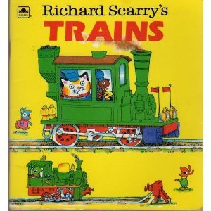 9780307115362: Richard Scarry's trains