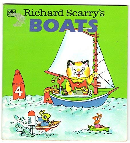 Scarry/Boats (A Golden Little Look-Look Book) (0307115372) by Scarry, Richard