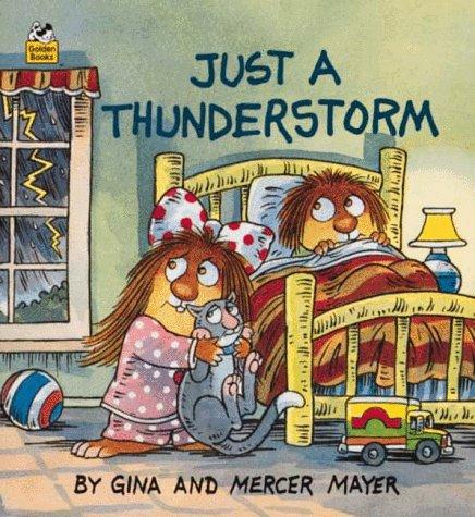 9780307115409: Just a Thunderstorm (A Golden Little Look-Look Book)