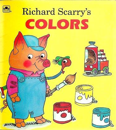 9780307115423: Scarry/Learn Colors \Lil Lk Lk (A Golden Little Look-Look Book)