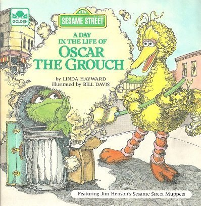 9780307116116: A Day in the Life of Oscar the Grouch