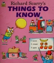 9780307116161: Things To Know (Little Look-Look)