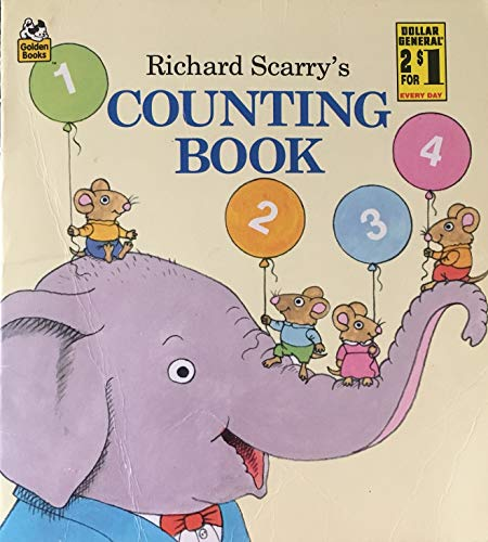 9780307116598: Richard Scarry's Counting Book (Look-Look)