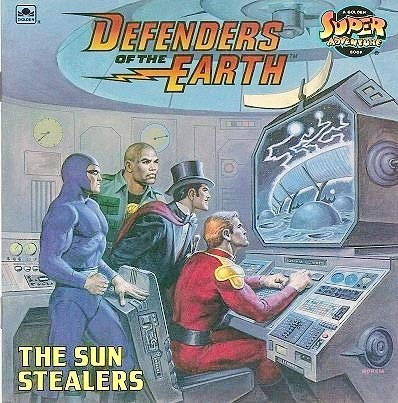9780307117656: Defenders of the Earth: The Sun Stealers
