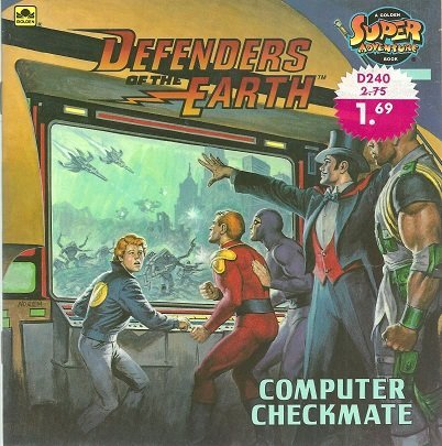 9780307117663: Defenders of the Earth: Computer Checkmate (Golden Super Adventure Book)