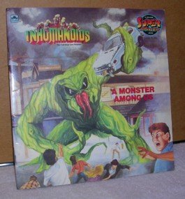 A Monster Among Us: The Evil That Lies Within (A Golden Super Adventure Book, Inhumanoids): Rich ...