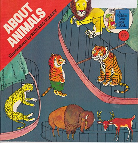 9780307118226: About Animals (A Golden look-look book)