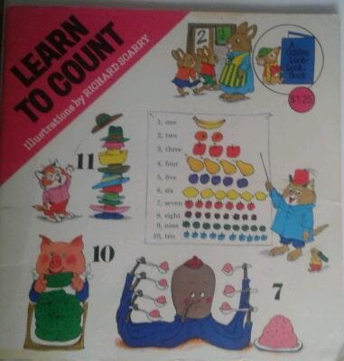 Learn to Count (A Golden Look-Look Book): Scarry, Richard