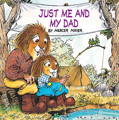 9780307118394: Just Me And My Dad (Golden Look-Look Books)