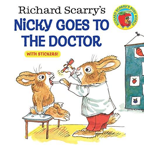 9780307118424: Richard Scarry's Nicky Goes to the Doctor (Pictureback(R))