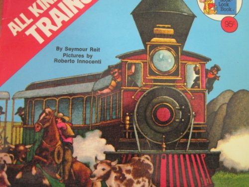 9780307118523: All Kinds of Trains (Golden Look-Look Book)