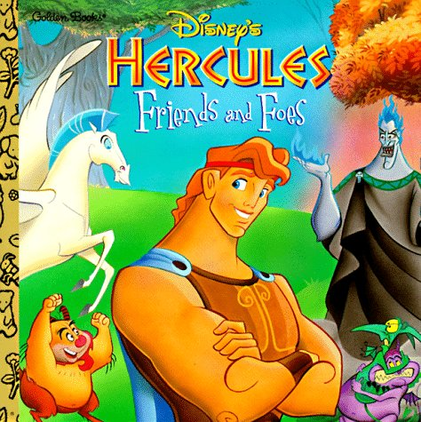 9780307119599: Disney's Hercules: Friends and Foes (Golden Books)