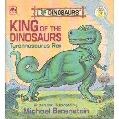 9780307119766: King of the Dinosaurs: Tyrannosaurus Rex (A Golden Little Look-Look Book)