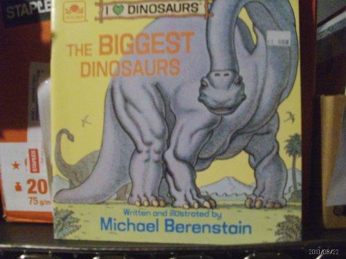 9780307119773: The Biggest Dinosaurs (Look-Look)