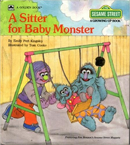 9780307120229: A Sitter for Baby Monster (Sesame Street Growing Up Books)