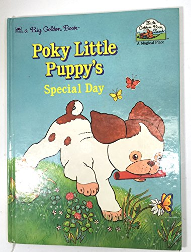 9780307120854: Poky Little Puppys Special Day (Big Golden Book)