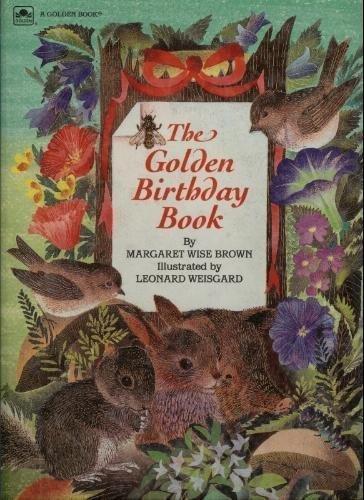 9780307120960: The Golden Birthday Book