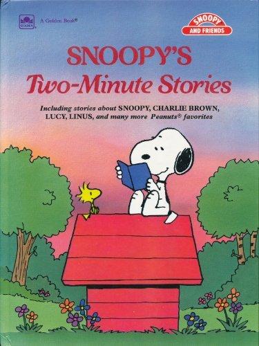 Snoopy's Two Minute Stories (Snoopy & friends): Korman, Justine, Ellis,