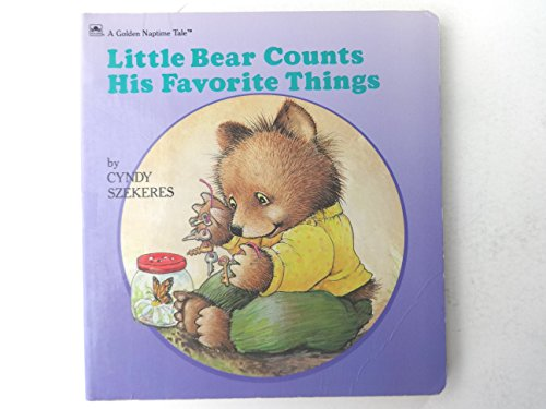 9780307122896: Little Bear Counts His Favorite Things (Golden Naptime Tale)