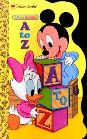 9780307123176: Disney Babies a to Z (Golden Books)