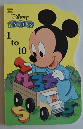 Disney Babies 1 to 10 (A Golden: Fran Manushkin
