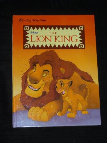 9780307123763: Disney's The Lion King (A Big Golden Book)