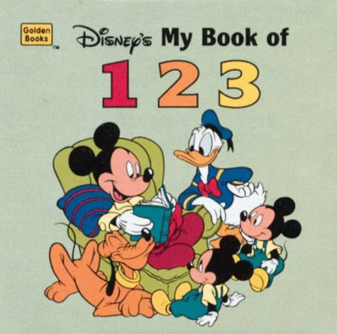 My Book of 1-2-3 (Shaped Little Nugget) (0307125181) by Golden Books Publishing Company