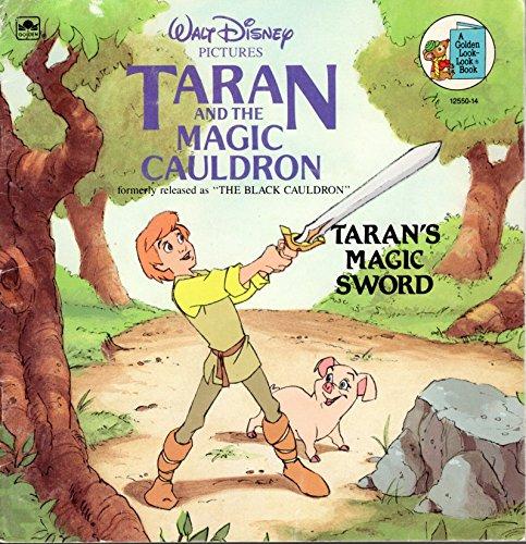 9780307125507: The Black Cauldron: Taran's Magic Sword (Golden Books)