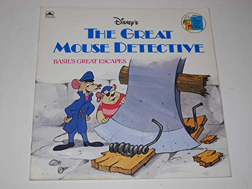 9780307125569: The Great Mouse Detective: Basil's Great Escapes