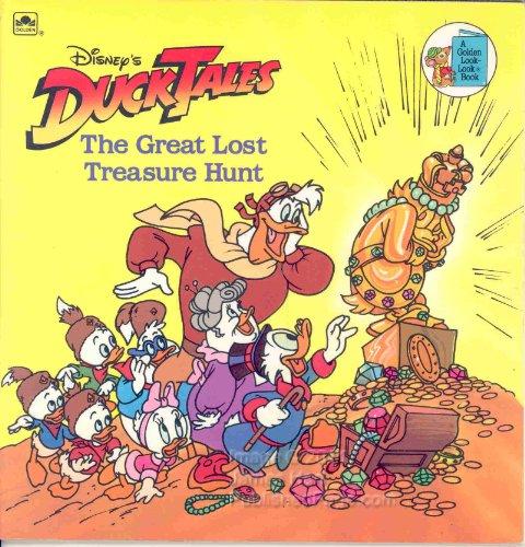 Disney's Duck Tales: The Great Lost Treasure Hunt (Golden Look-Look Book): Taylor, Rich