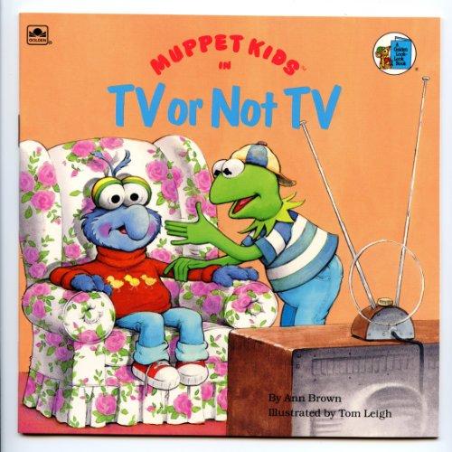 9780307126528: Muppet Kids in, TV or Not TV (A Golden Look-Look Book)