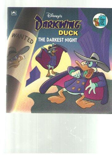9780307126634: Disney's Darkwing Duck: The Darkest Night (Golden Books)