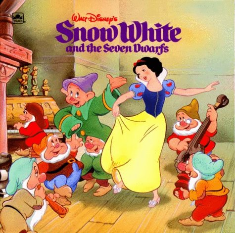 9780307126863: Walt Disney's Snow White and the Seven Dwarfs (Golden Look-Look Book)