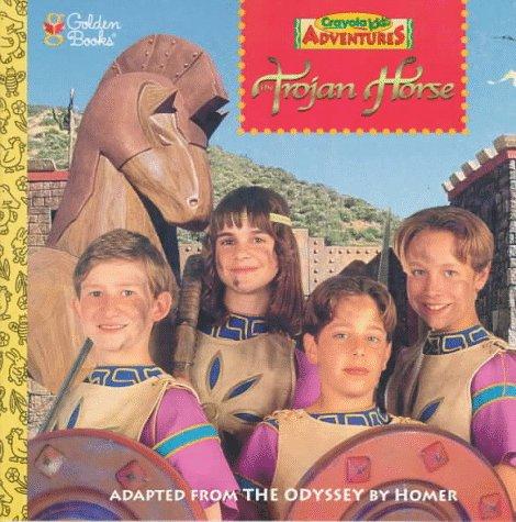 9780307129680: The Trojan Horse (Crayola Kids Adventures)