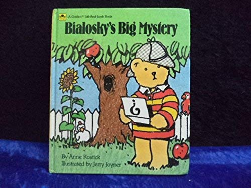 9780307130006: Bialosky's Big Mystery (A Golden lift-and-look book)