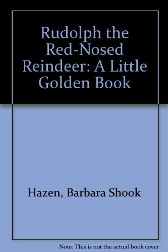 9780307130129: Rudolph the Red-nosed Reindeer (A Little Golden Book)