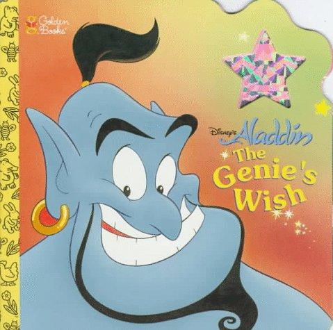 Disney's Aladdin the Genie's Wish (Deluxe Super Shape Book): Justine Korman