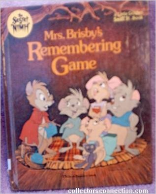 Mrs. Brisby's remembering game (A Little golden sniff it book): Davis, E. K