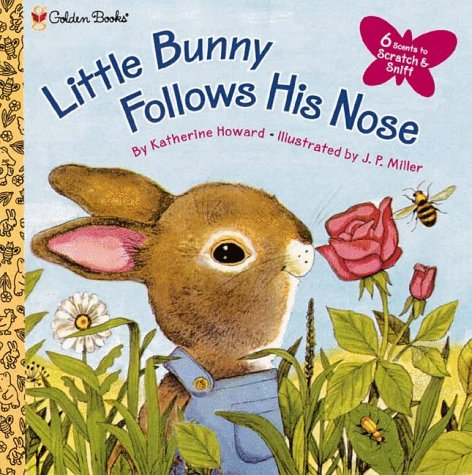 9780307135360: Little Bunny Follows His Nose (Golden Scratch & Sniff Books)