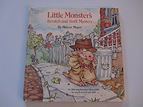 9780307135469: Little Monster's Scratch and Sniff Mystery (A Golden Scratch & Sniff Book)