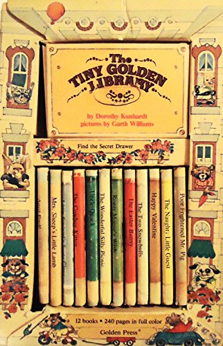 The Tiny Golden Library Animal Nonsense Stories (12 books) (0307136183) by Dorothy Kunhardt