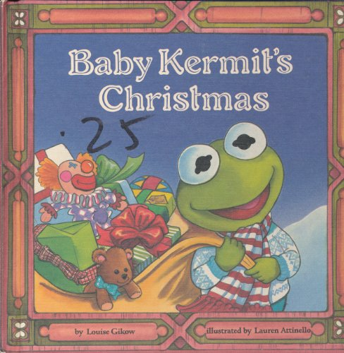 9780307137227: Baby Kermit's Christmas (A Jim Henson Muppet Press Book)