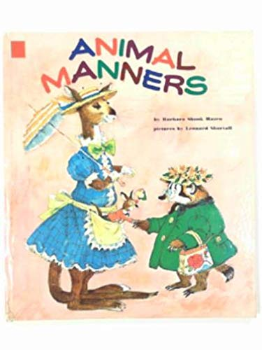9780307137487: Animal manners