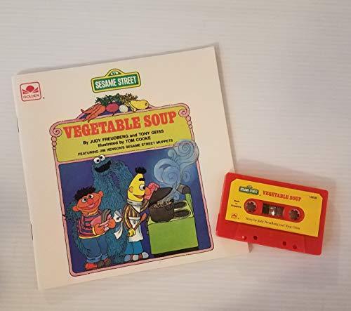 9780307139269: Vegetable Soup/Stybk Bk Tape (Sesame Street)