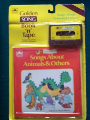9780307139757: Songs About Animals and Others (Golden Song Book 'n' Tape)