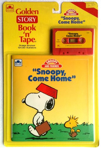 9780307139900: Snoopy, Come Home (Golden Story Book 'n' Tapes - Peanuts)