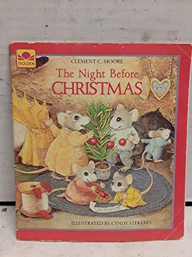9780307141903: Twas Nite B4 Xmas Bk&tp(12) (Golden Story Book 'n' Tape)