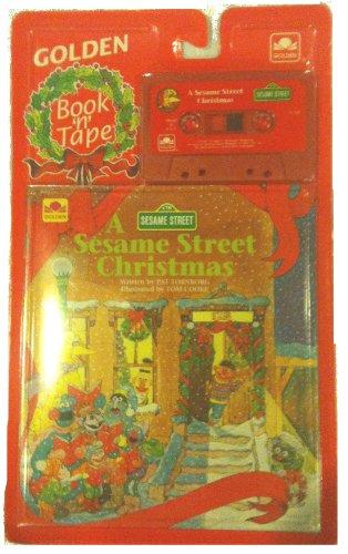9780307141934: Sesame St. Christmas Bk&tp(12) (Golden Story Book N Tape)